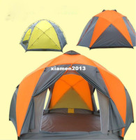 Wholesale Oversized Yurts Double Layer Rain Tents Canvas Outdoor Camping Tents People Casual Tents