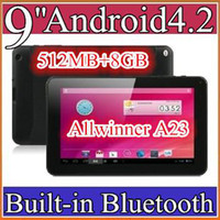 9 inch 5 inch ebook reader - 40PCS cheap inch Dual camera core Android Tablet PC MB GB GHz Allwinner A23 Bluetooth Ebook Reader