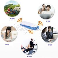 achat en gros de gros wifi répéteur-5in1 Mini USB wifi 150Mbps 3G WIFI sans fil mobile répéteur routeur Hotspot + 1800mAh Powerbank pour gros iPhone Livraison gratuite