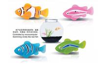 Wholesale New LED Novel Robofish Electric Toy Robo Fish Emulational Toy Robot Fish Electronic pets