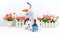 New Arrival Cartoon Movie Frozen Olaf Plush Toys For Sale 30...