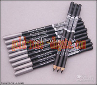 aloe black - HOT Eyeliner eyebrow Liner Pencil Black Brown EYE LIP Liner Pencil Aloe Vitamin E1 g DHL GIFT