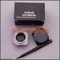 eye gel eye liner - HOT Makeup Eye Liner gel g BLACK FREE GIFT