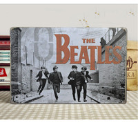 Wholesale 20 cm THE BEATLES Retro Signs Metal Painting Tin Sign Decorative Poster Bar Pub Decor