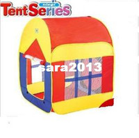 other other Canvas Children large size tent baby outdoor play house double-door game tent kids outings home + free shipping