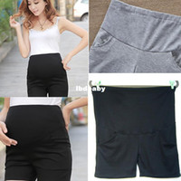Wholesale shorts Maternity Pants Summer Plus Big Size High Waisted Women s Leisure Clothes Pregnant female Pregnancy Colors