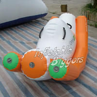 water park games - Inflatable water rocker mini inflatable floating rocker water park game