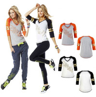 Wholesale woman Dance clothes FOOTBALL SHIRT t shirt