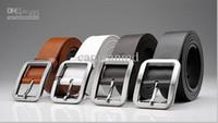 Wholesale Genuine Leather Wide Belts For Men Designer Simplicity Style Formal Office Mens Brand New Belt