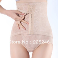 Women Corset & Bustier Shapers Free shipping Women Slimming Corset High Waist Abdomen Hip Body Control Shaper Brief Underwear DropShipping