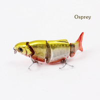 Reservoir Pond Yes Other Bait Quality Minnow live fishing bait lures for fishing multi section lure BLWJ80