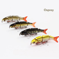 Reservoir Pond Yes Other Bait Quality Minnow live fishing bait lures for fishing multi section lure BLWJ105