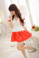Wholesale lingerie Japan Sex School Girl Hot Sexy School Skirt Hot Sale Sleepwear Temptation Sexy Costume Drop Ship US1569