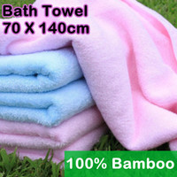Wholesale Bamboo Fiber Bath Towel Beautician Toalha Adults Kids Beach terry yarn towel Spa Salon Wraps Towels bulk towel toallas