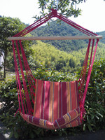 Cotten Outdoor Furniture or not Outdoor hanging chair hammock swing chair hanging chair canvas thickening cradle chair hammock