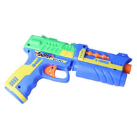 Wholesale Plastic Foam Eva Gift Children Kids Boy Safe Army Air Soft Airsoft Gun Pistol Toy Set