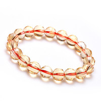 Cheap Ling Fei genuine natural citrine bracelet watermelon surface Lucky Wang Yun shipping fashion jewelry male and female models