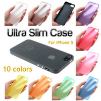 Wholesale 0 mm Slim Matte Transparent Clear Soft PP Cover Case Skin For iPhone S Plus S SE iPhone