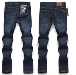 Wholesale men jeans Spring and summer new arrival male straight jeans slim men s clothing casual trousers jeans men