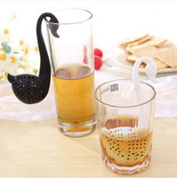 Wholesale Factory offer Swan Shaped Tea Infuser Tea Filter Spoon Herbal Tea Strainer Best gift