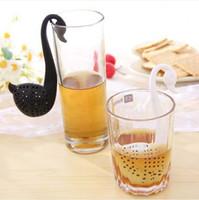 Bar herbal tea gifts - Factory offer Swan Shaped Tea Infuser Tea Filter Spoon Herbal Tea Strainer Best gift