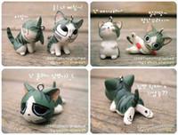 Wholesale Chain for Mobile Phone Specials Korean Creative Accessories Cartoon Cute Cat Mobile Phone Pendant