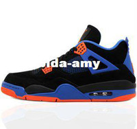 Wholesale retail the forth generation black blue New York men s basketball shoes authentic