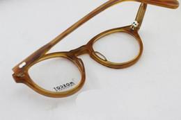 Wholesale Moscot Round full vue MILTZEN glasses frame Blonde glasses frame Moscot glasses frame Moscot Johnny Depp