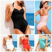 Cheap Bikinis Set jumpsuit swimwear Best Polyester Women suit bikini