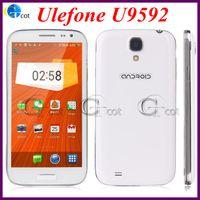 WCDMA Octa Core Android pk s4 note 3 MTK6592 Ulefone U9592 Octa core Unlock Cell Phones 5.0Inch 1.7G 1GB RAM 8GB ROM 8.0MP camera 3G GPS smartphone with filp case