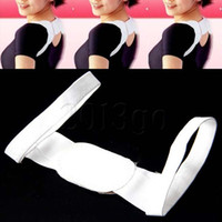 Back   New Arrival Adjustable Therapy Back Support Brace Belt Band Posture Shoulder Corrector #7431