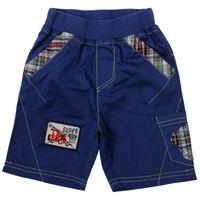 Wholesale D4735 Nova high quality boys summer blue cargo shorts board shorts with applique amp waistband Fresh stock