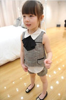 Europe Summer 2014 Children Girls Outfits Scarf Doll Collar ...