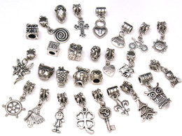 Wholesale Authentic tibet Silver beads charms Fit chamilia biagi Bracelet mix style