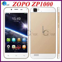 Zopo 5.0 Android ZOPO ZP1000 MTK6592 Octa core android cell phones 5.0INCH Ultrathin Smartphone IPS HD Srceen 1.7GHz CPU 1G RAM 16G ROM 14.0MP 3G OTG