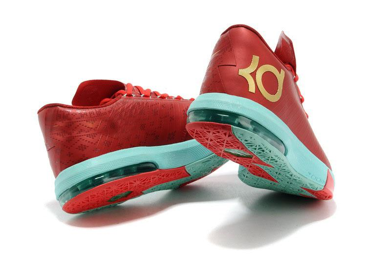 Nike zoom kevin durants kd vi basketball shoes milk ice
