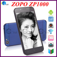 Zopo 5.0 Android ZOPO ZP1000 MTK6592 Octa core android cell phones with Free tronsmart T1000 Miracast EZCAST value of 29.99usd