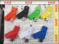 Wholesale Free DHL GB Dual Purpose Plastic USB Flash Drive Pen Drive USB Stick Flash Pendrive In Different Colors