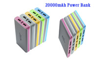 20000mAh Power Bank External Battery portable Charger dual U...