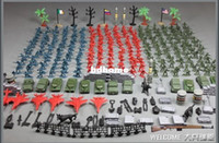Wholesale 284pcs World War II toy soldiers figures gi joe german army classic toys Christmas Gift for kid boys toys cm people