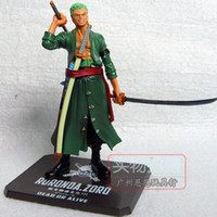 Wholesale One Piece Roronoa Zoro After Years THE NEW WORLD PVC Action Figure Collection Model