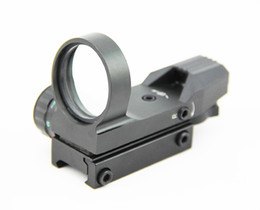 Tactical 1x33 Multi Reticle Red & Green Dot 4 Reticle Reflex Sight