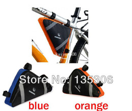 Wholesale PVC Triangle Bicycle Bike Bag Front Frame Pipe Pouch Bag Dropshipping