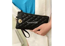 Monederos de las señoras libres en Línea-Bolsos de noche y embragues el Envío Gratuito de la Moda Patrón Acolchado Coger la Cartera de las Señoras de Moda, Bolsas de las Mujeres Bolso WA-13