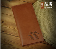 Wholesale men s wallet Brand name Leather Wallet for men Gent Leather purses hot fashion
