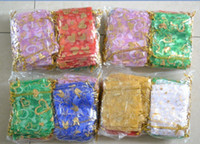 Jewelry Packaging & Display China (Mainland)  GREAT WHOLESALE LOT 800PCS CHINESE SILK JEWELRY BAGS