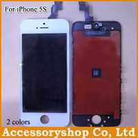 Wholesale Top Quality iPhone S C S CDMA Full Original LCD Display Touch Screen Digitizer with Frame Full Set Assembly Replacement Part DHL