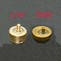 gun parts - Skillful Rotary Cam Tattoo Wheel Bearing Gun Parts Gold Tattoo Shader And Liner Gun