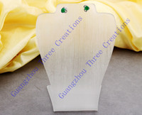 Wholesale 5pcs mm Bust Stud Earring Necklace Acrylic Display Stand Fashion Jewelry Display