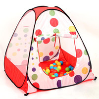 Tents Animes & Cartoons Polyester Childern kids Playing In&Outdoor Pop Up House Play Game Tent baby playhouse Castle Canopy toy multi-function
